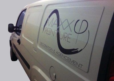 Marquage de véhicule – Maxx Peinture