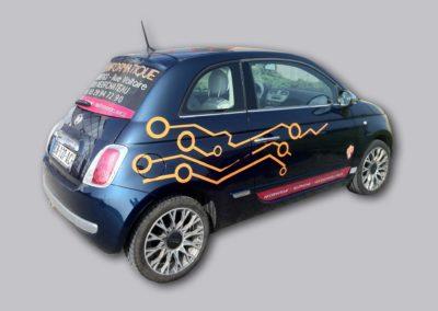 Marquage de véhicule – SAM Informatique