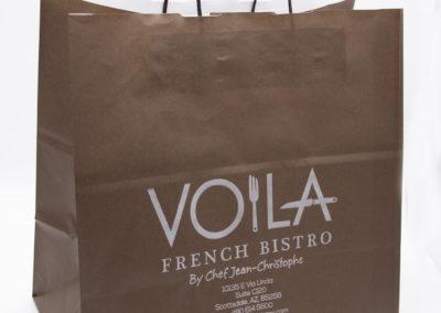 Sac à emporter – Voilà French Bistro