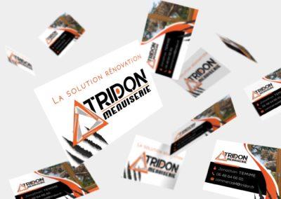 Cartes de visites – Tridon Menuiserie