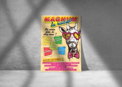 Affiche – Magnum la radio