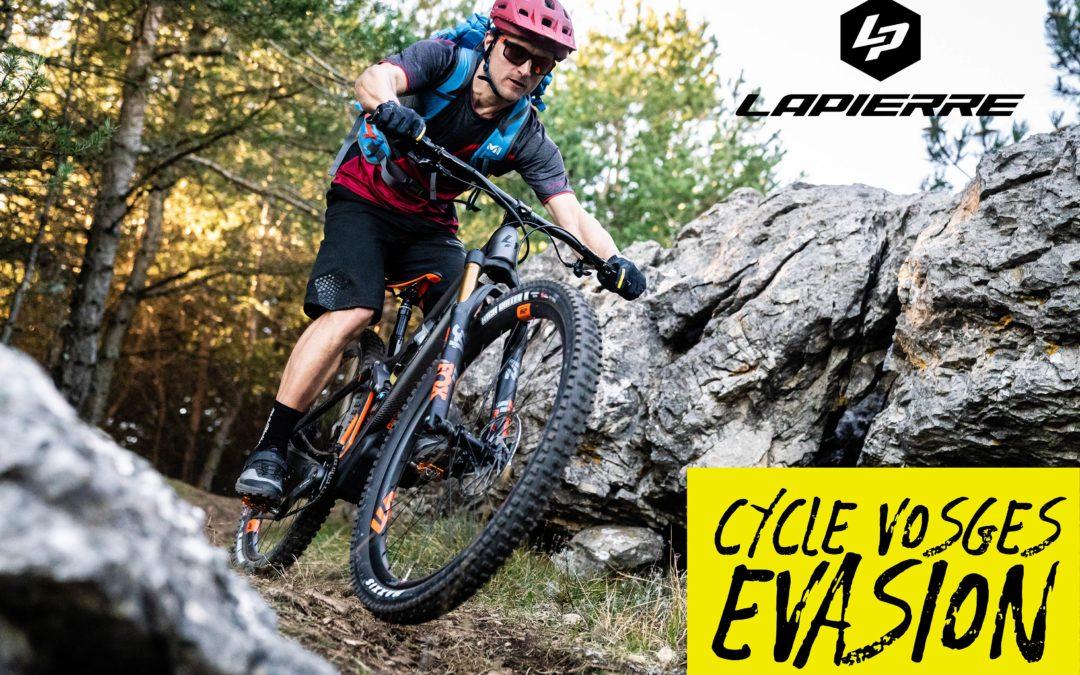Panneau d'affichage – Cycle Vosges Evasion
