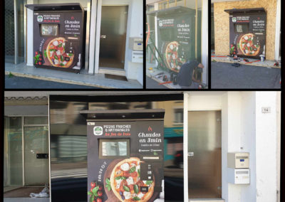 Habillage – Machine à Pizzas