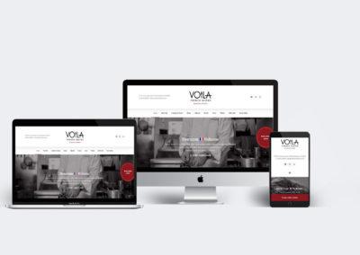 Site web – Voila French Bistro