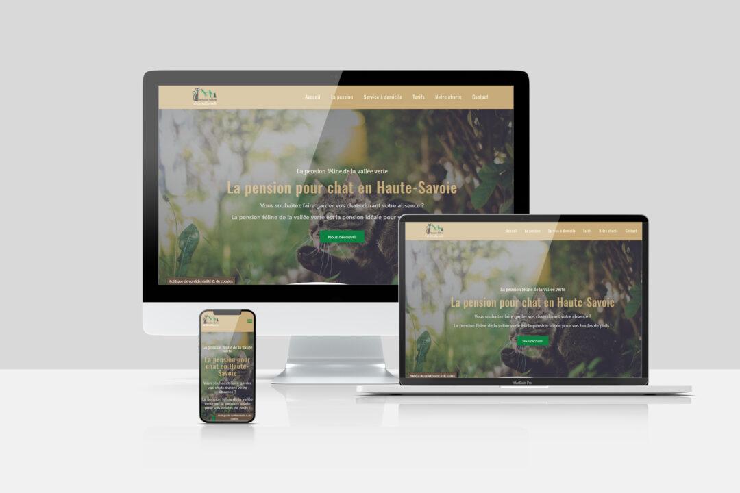Site web – Pension féline